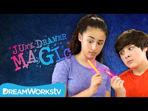 Color Changing Popsicle Stick Trick | JUNK DRAWER MAGIC