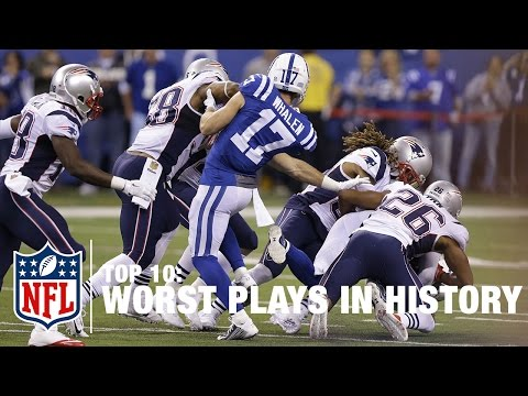 Top 10 Worst Plays of All Time! | NFL