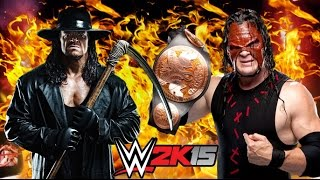 Traídos Desde el Infierno - The Undertaker Vs. Kane - WWE 2K15 Torneos - King Of The Ring