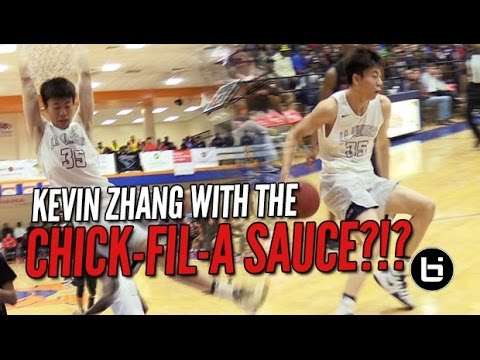 Kevin Zhang Gets Saucy During Day 2 of Chick-Fil-A Classic!