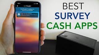 Best Survey Apps to Earn Cash & Rewards
