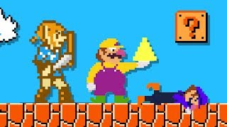 Link OP in Super Mario Bros. (feat Wario and Waluigi)