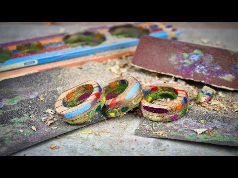Diy Colored Pencil Rings