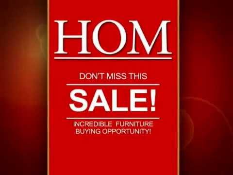 HOM Furniture - Liquidation
