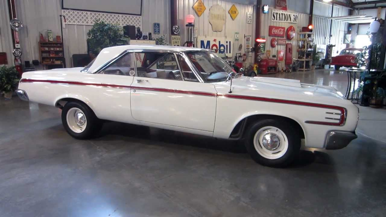 Sold 1964 Dodge Polara 426 Max Wedge Stage Three For Sale