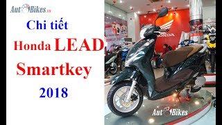 Honda Lead Smartkey 2018 có thiết kế mới, khóa thông minh và đã đượ...