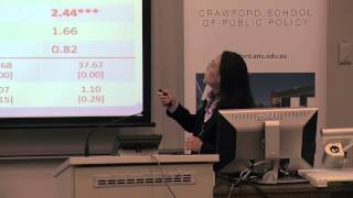 Demographic transition in rural and urban China: Dr Annie Wei