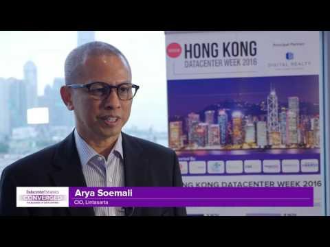 Interview with Arya Soemali, Lintasarta at DCD HK