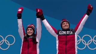 Tessa Virtue and Scott Moir win Olympic ice dance gold