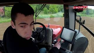 CASE IH Steiger 400 - Testdrive in France