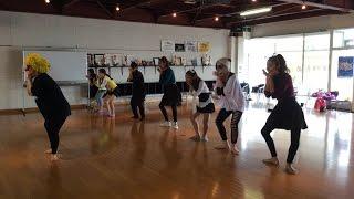 リンダ3世のメンバーと研究生の「ハロウィンコスチューム練習」。 Ensai...