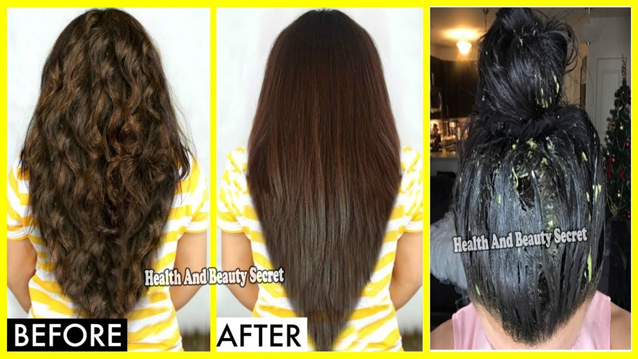 Beauty Secrets: straightening hair at home 61