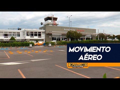 Movimiento de pasajeros en Aeropuerto Yariguies