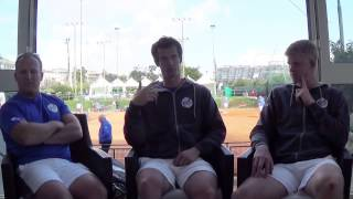 Davis Cup Teammates with Andy Murray, Kyle Edmund and Matt Little