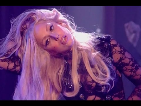 Lady Gaga - Marry the night live at X Factor UK 2011 HD - Marry the night directo Best Performance