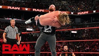 In his first Raw match in eight months, The Lunatic Fringe locks up with The Showoff. #RAW GET YOUR 1st MONTH of WWE NETWORK for FREE: ...