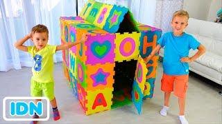 Download Vlad dan Nikita membangun Playhouse berwarna Mp3 and Videos