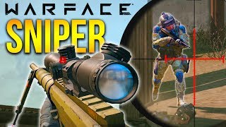 SCOUT SNIPER WARFACE F2P PC Shooter CheyTac M200 Gameplay