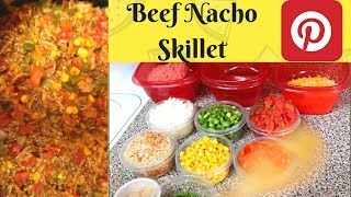 BEEF NACHO SKILLET FOR TACO TUESDAY! (VLOG) | COOKING WITH THE FRITZ | FRITZ FAMILY ENTERTAINMENT