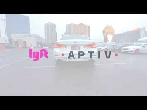 #RideIntoTheFuture with Lyft at CES