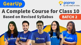 GearUp: A Complete Course for Class 10 (Batch 2)