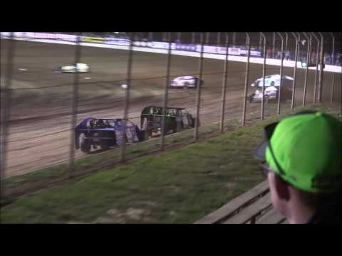 UMP Modified Heat #4 from Portsmouth Raceway/Dirt Track World Championship, 10/13/16.