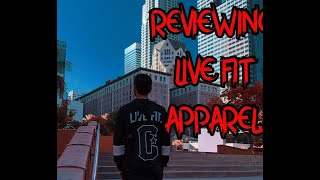 LIVE FIT APPAREL REVIEW|ORDERING ON A BUDGET