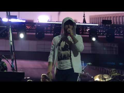 Eminem Live at Stockholm, Sweden, Friends Arena, 02.07 // Revival Tour