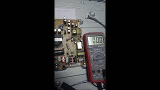 Lg 42la620v проверка блока питания и подсветки.