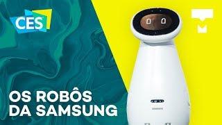 Os robôs da Samsung na CES 2019 - TecMundo