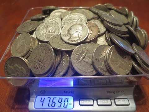 How Much Silver Weight Do You Lose With Circulated Constitutional Silver Coins?