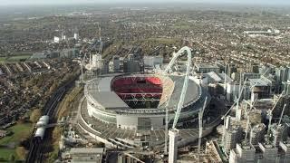 اكبر ملعب في لندن ملعب ويمبلي 😍🇬🇧  Wembley Stadium)