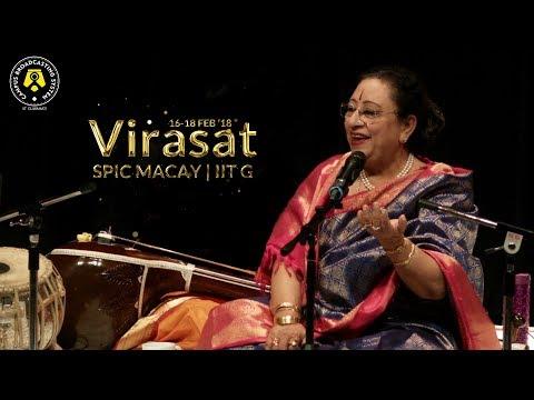 Humein tumse pyar Kitna | Begum Parveen Sultana Live | Virasat IIT Guwahati