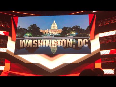 RINGSIDE AT WWE MONDAY NIGHT RAW 2020 (Washington, D.C)