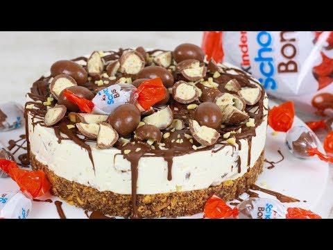 Kinder Schoko Bon Torte ohne Backen I No Bake Cake