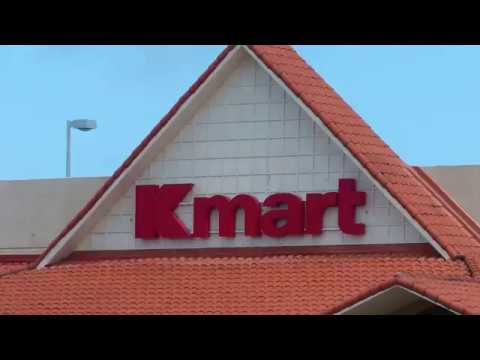 GUAM USA. WORLDS LARGEST, MASSIVE KMART STORE, SHOPPING, TRA