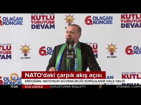 Erdoğan'dan ABD'ye NATO tepkisi: Bu terbiyesizliği ancak aptallar ve alçaklar yapar