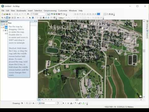 Drawing Field Boundaries in ArcMap
