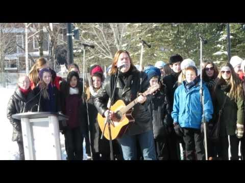 A Children's Winter, Alan Doyle & the St. Paul's Choir, 'The Loop' Official Opening, St. John's