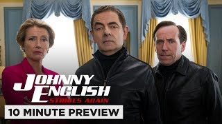 Johnny English Strikes Again | 10 Minute Preview | Film Clip | Own it now on Blu-ray, DVD & Digital