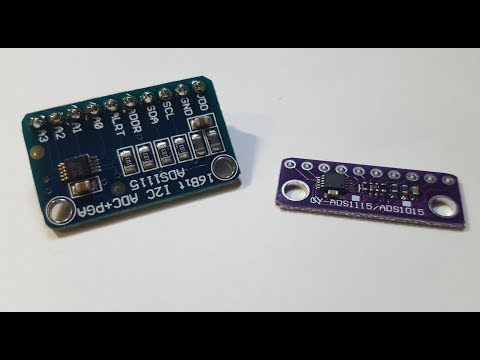 Analog extender for ESP-8266 and Arduino