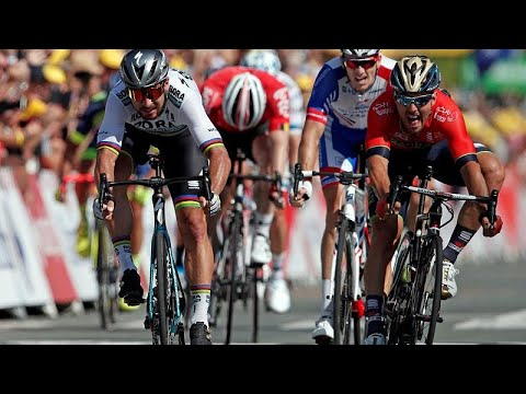 Peter Sagan gana la segunda etapa del Tour de Francia