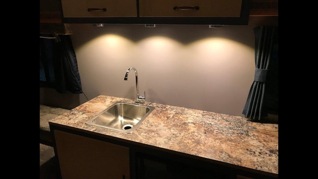 Home Built Travel Trailer Part 52 Sink Faucet Installation