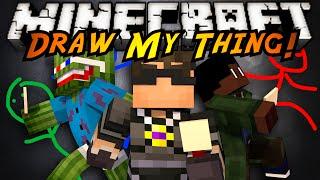 Minecraft Mini-Game : DRAW MY THING!