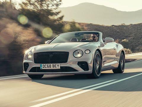 Essai Bentley Continental GTC (2019)