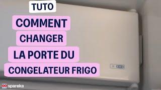 Remplacer le portillon de freezer de votre réfrigérateur