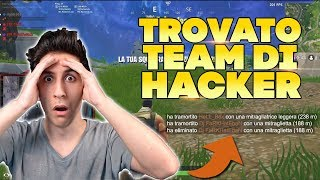 *ASSURDO* HO TROVATO un TEAM di HACKER! GUARDA CHE FANNO! (Hacker in game - Fortnite)