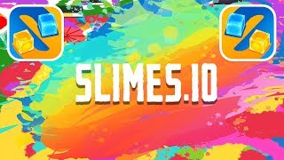 SLIMES.IO GAMEPLAY FIRST RECORDS