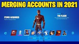 (How To Merge Y๐ur Fortnite Account In 2021) Working*