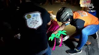Best Rescue Team from Aklan Philippines in Action during a vehicular accident on 20th October 2019